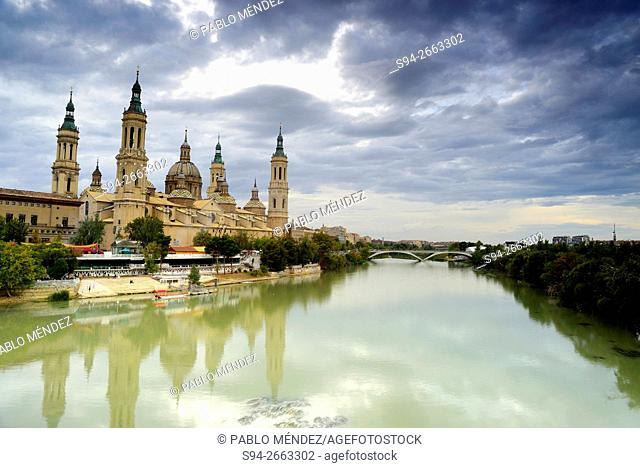 Basilica of Our Lady of El Pilar in Zaragoza, Spain