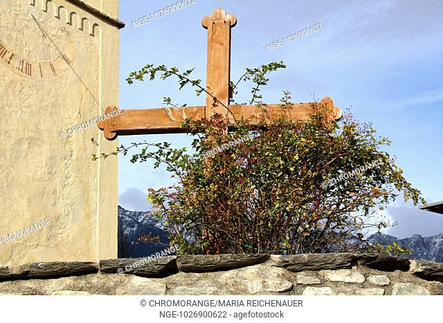Church in Plaus, South Tyrol, Italy