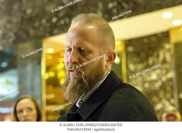 Trump campaign digital director Brad Parscale is seen in the in the lobby of Trump Tower in New York, NY, USA on December 3, 2016