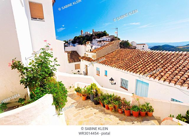 Casares in Andalusien, Spanien