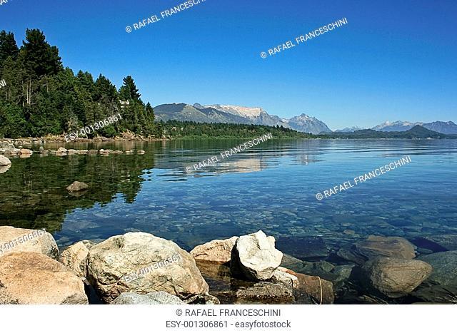 Lake Nahuel Huapi in Bariloche
