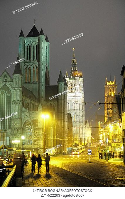 Cathedral of Saint Bavon. Gent. Belgium