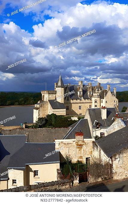 Montsoreau, Loire River, Castle, Labelled Les Plus Beaux Villages de France, The Most Beautiful Villages of France, Maine et Loire, Pays de la Loire