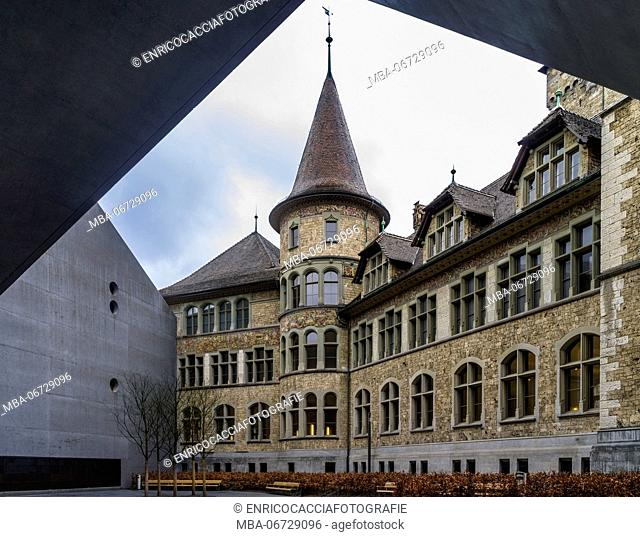 Sate museum of Zurich with annex building