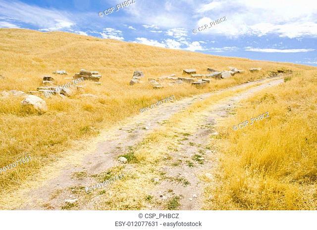 archaeological place of Segobriga, Saelices, Castile-La Mancha, Spain