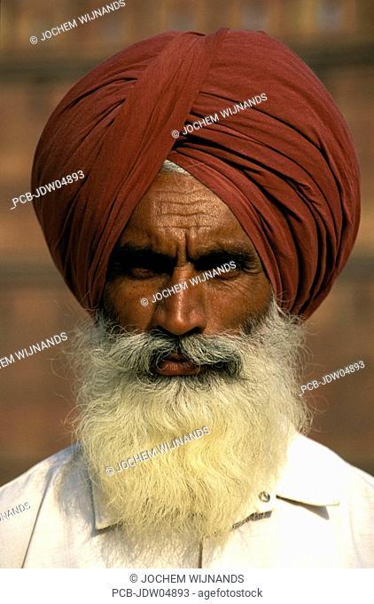 New Delhi, a sikh in New Dehli