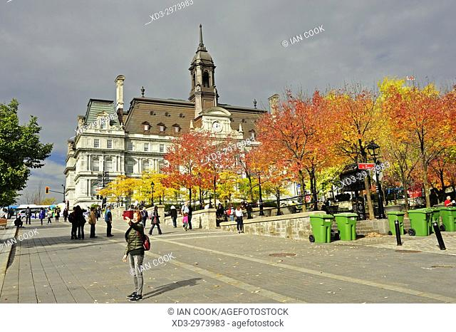 City Hall, Old Monreal, Montreal, Quebec, Canada