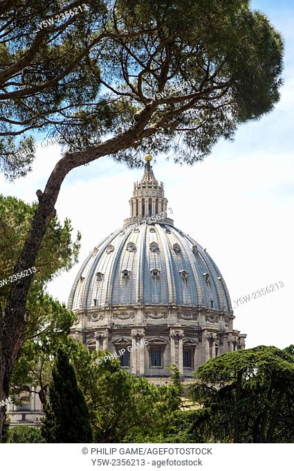 Basilica of St Peter's at the Vatican, Rome