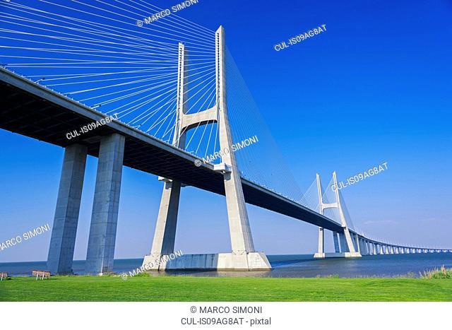 Vasco da Gama Bridge, Belem, Lisbon, Portugal
