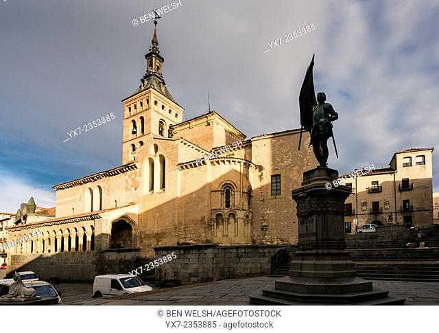 San Martin Church. Segovia, Castilla y Leon, Spain