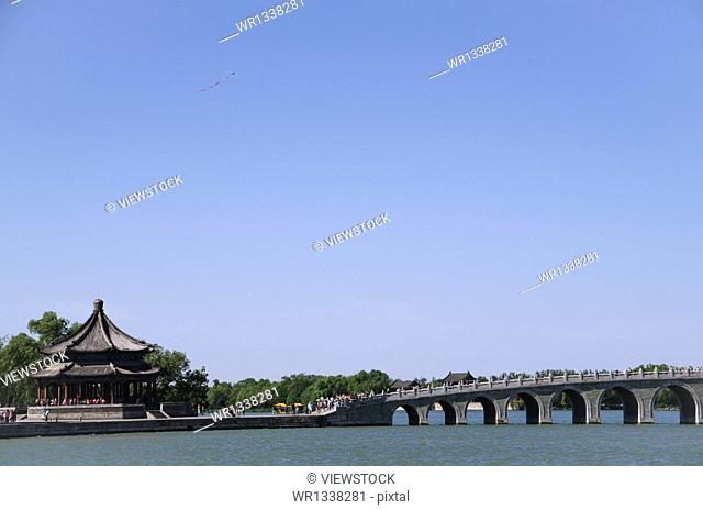 Summer Palace in Beijing scenery