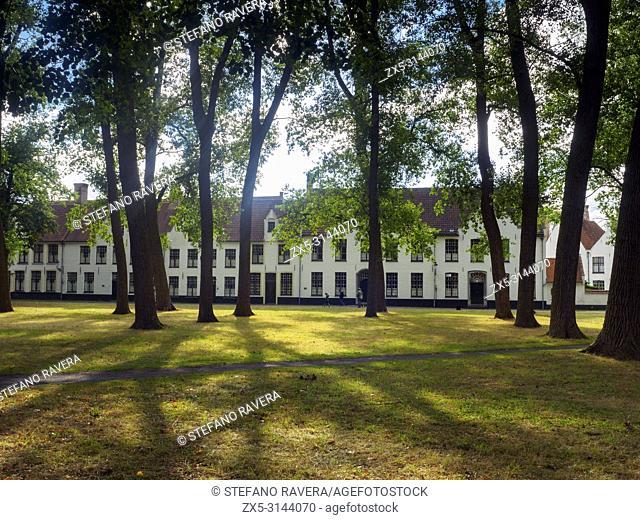 The Princely Beguinage Ten Wijngaerde (Dutch: Prinselijk Begijnhof Ten Wijngaerde) is the only preserved beguinage in the Belgian city of Bruges