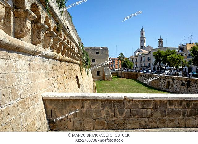 The Castello Svevo (Swabian Castle) is a castle in the Apulian city of Bari, Italy. Built around 1132 by Norman King Roger II