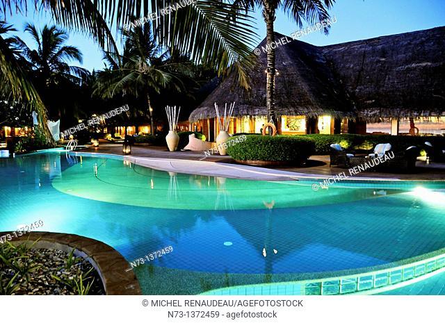 Indian Ocean, Maldives, Noonu Atoll, Kanuhura Resort