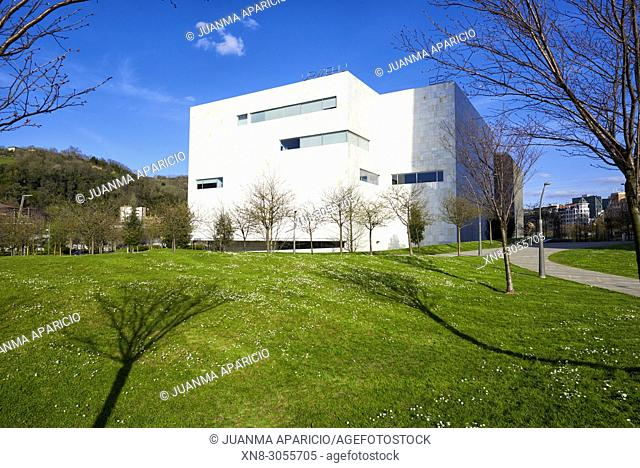The Paraninfo of the University of the Basque Country by Álvaro Siza, Bilbao, Bizkaia, Biscay, Basque Country, Euskadi, Euskal Herria, Spain, Europe