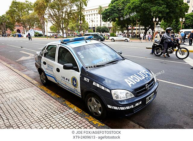 policia federal argentina federal police patrol vehicle Buenos Aires Argentina