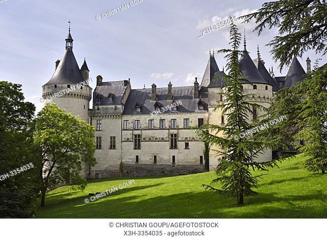 Chateau, Domaine de Chaumont-sur-Loire, departement Loir-et-Cher, region Centre-Val de Loire, France, Europe/Castle, Domain of Chaumont-sur-Loire