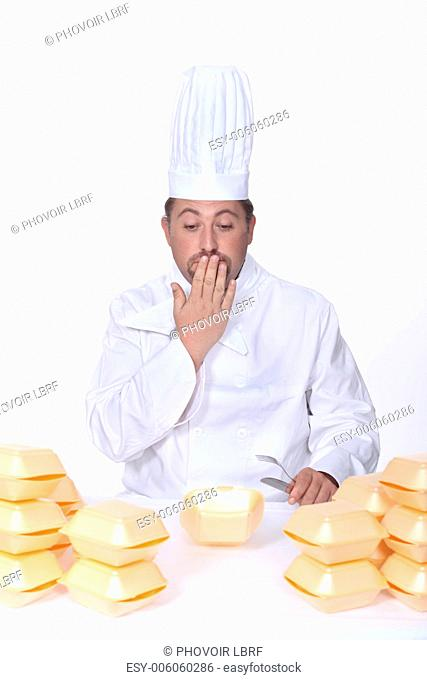 Chef tempted by fast-food