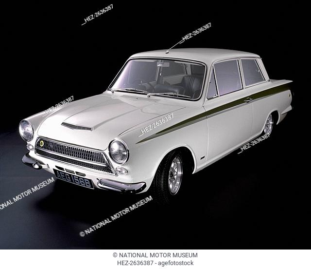 1964 Lotus Cortina mk1. Artist: Unknown