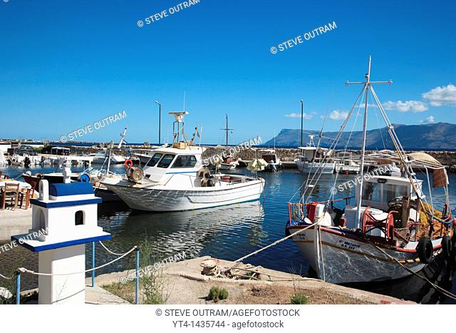 Fishing Boats, Kastelli Harbour, Crete, Greece