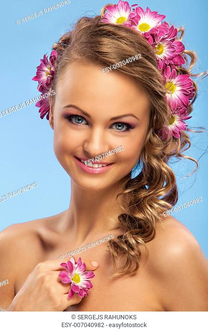 Beautiful Hair Chrysanthemum Stock Photos And Images Age
