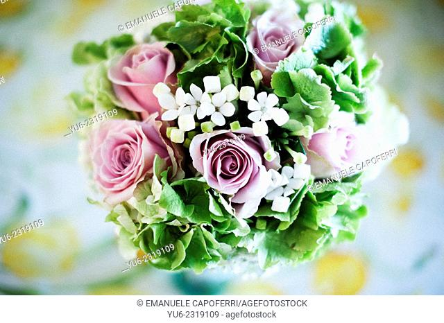 Bouquet of flowers for the bride