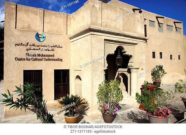 United Arab Emirates, Dubai, Bastakia, historic quarter, Sheikh Mohammed Centre for Cultural Understanding