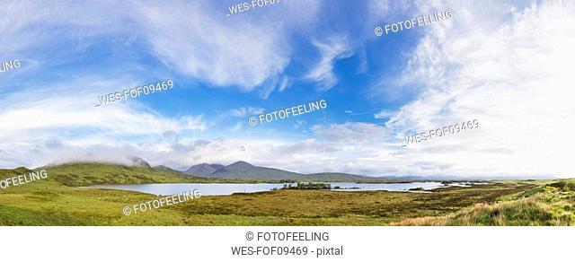 Great Britain, Scottish Highlands, Glencoe, Rannoch Moor, Lochan na H'Achlaise