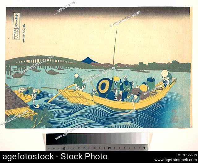 Artist: Katsushika Hokusai (Japanese, Tokyo (Edo) 1760-1849 Tokyo (Edo)); Period: Edo period (1615-1868); Date: ca. 1830-31; Culture: Japan; Medium: Polychrome...