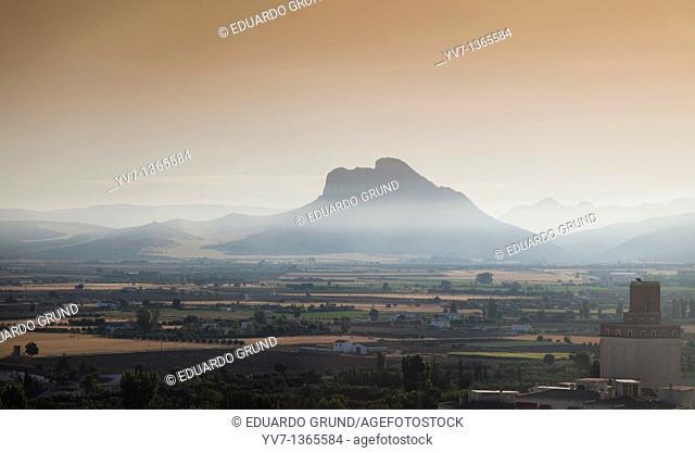 Views of the Peña de los Enamorados, Antequera, Andalusia, Spain