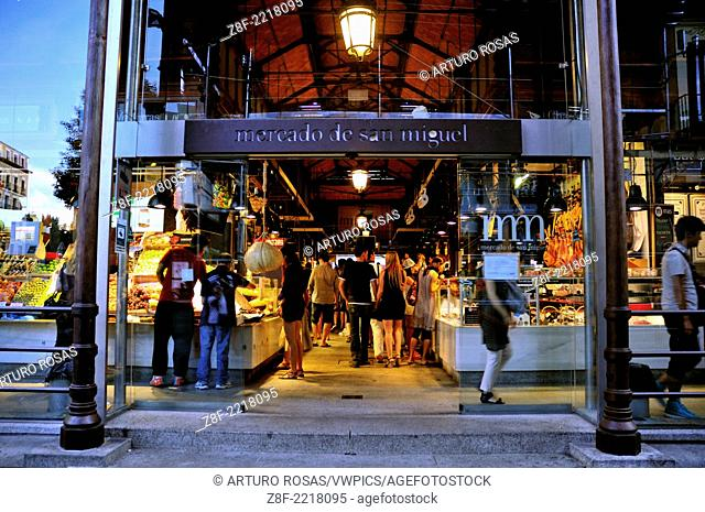 San Miguel Market. Madrid, Spain