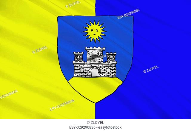 Flag of Montlucon is a commune in central France on the Cher river. It is the largest commune in the Allier department, although the department prefecture is...