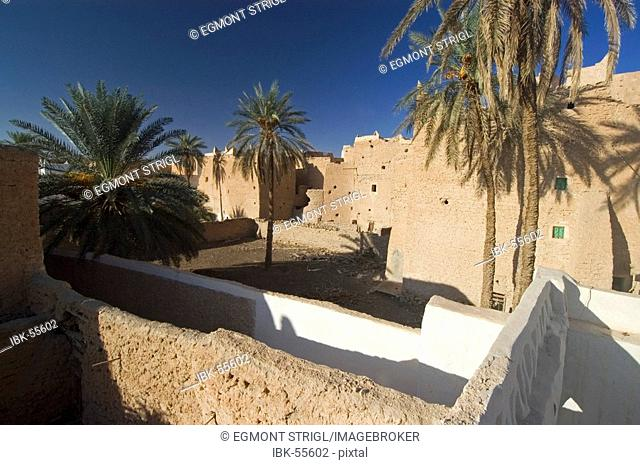 Palm garden at Ghadames, Ghadamis, Libya, Unesco World Heritage Site