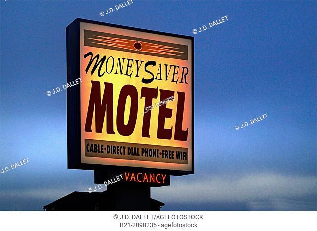 Motel at Newport, Oregon, USA