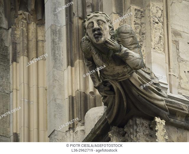 Great Britain. York. Cathedral. Ornament