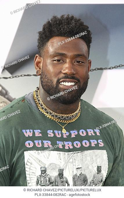 "Delanie Walker at the Universal Pictures World Premiere of """"Fast & Furious Presents: Hobbs & Shaw"""". Held at the Dolby Theater in Hollywood, CA, July 13, 2019"