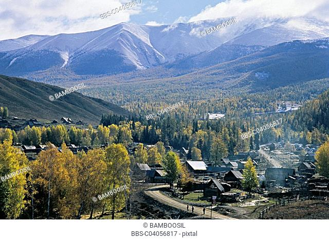 Baihaba Village, Habahe County, Xinjiang Uygur Autonomous Region of People's Republic of China