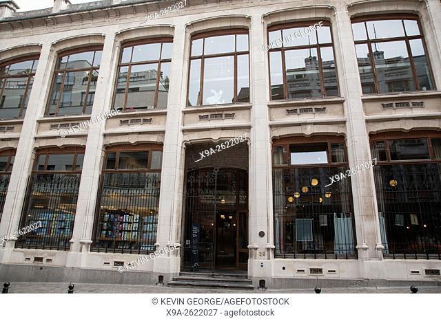 Belgian Comic Strip Center, Brussels, Belgium