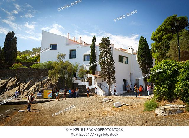 Dali's home. Port lligat village. Cadaques town. Costa Brava, Girona. Catalonia, Spain