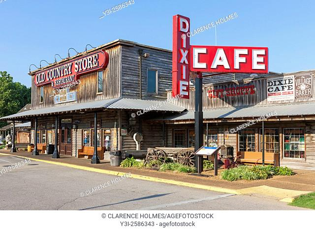 Brooks Shaw's Old Country Store in Casey Jones Village in Jackson, Tennessee