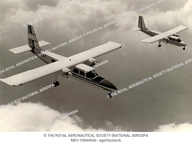Britten norman islander Stock Photos and Images | age fotostock