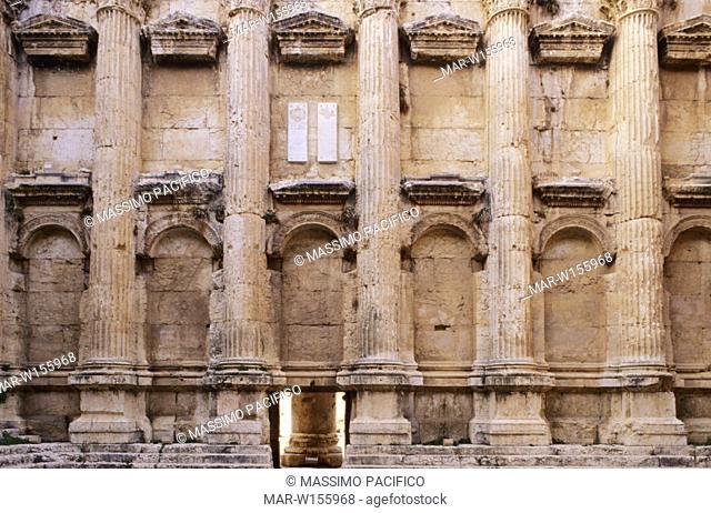 asia, middle east, lebanon, baalbek, temple