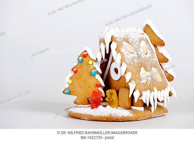 Gingerbread house, Christmas cookies