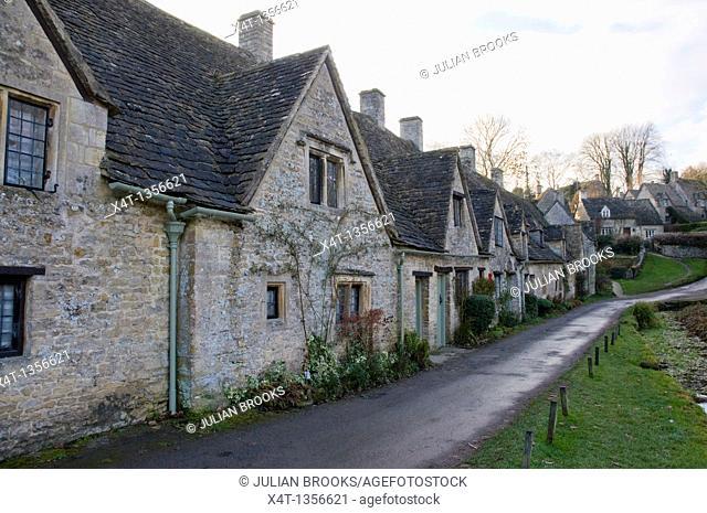 Arlington Row in Bibury, Oxfordshire