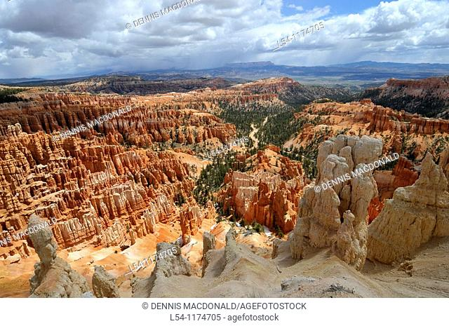 Inspiration Point Bryce Canyon National Park Utah