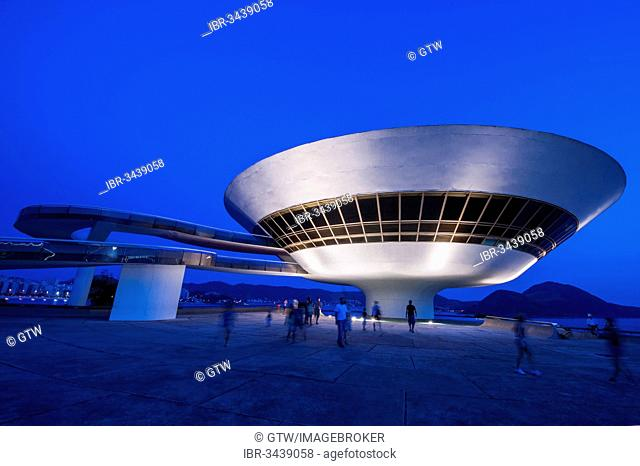 Niterói Contemporary Art Museum, Niterói, Rio de Janeiro State, Brazil