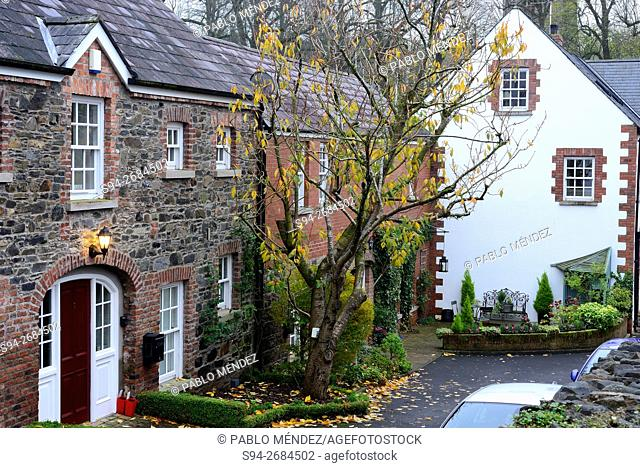 Rustic houses in Hillsborough, Lisburn, Northern Ireland