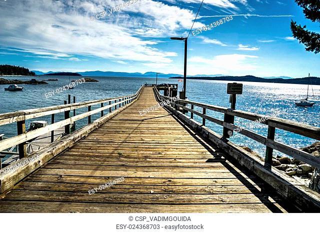 Halfmoon Bay , Sunshine cost, British Columbia