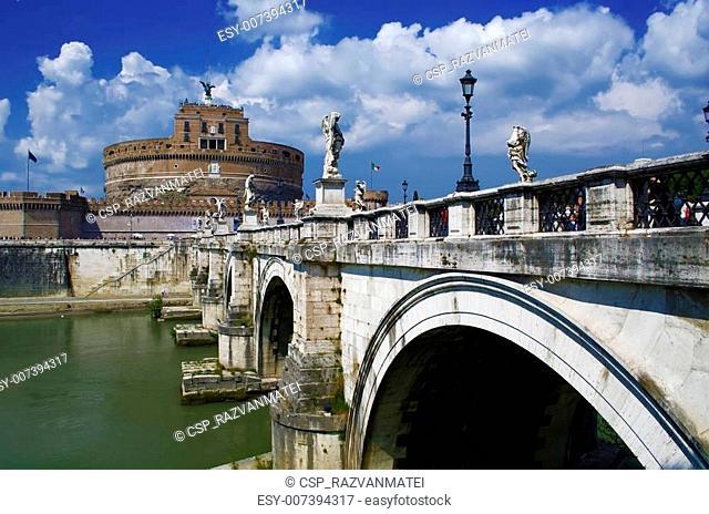 Rome - Castel Sant'Angelo (Mausoleum of Hadrian)