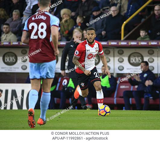 2018 EPL Premier League Football Burnley v Southampton Feb 24th. 24th February 2018, Turf Moor, Burnley, England; EPL Premier League football